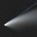 Comet Neowise from La Bréole - Takahashi FS60,                                Emmanuel Fontaine