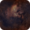 NGC 7822 - Sharpless 171: Inside the scull,                                urban.astronomer