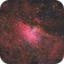 """M16 with """"Pillars of Creation"""" - first light!,                                Michael S."""