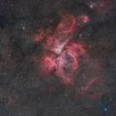 Eta Carinae Nebula (NGC 3372),                                Miles Zhou