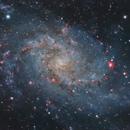 Galaxia del Triángulo M33,                                Guillermo Spiers