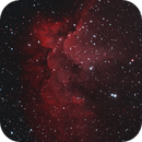 Wizard Nebula - NGC7380 - SH2-142,                                Everett Lineberry