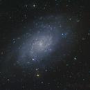 M33 triangulum galaxy,                                Bach hamba Youssef