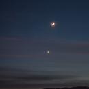 Earthshine and Venus,                                Alan Ćatović