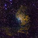 Flaming Star Nebula, IC405,                                Mike Missler
