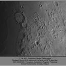 Moon, Posidonius region, ZWO ASI290MM, 20210217,                                Geert Vandenbulcke