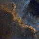 NGC 7000 (The Great Wall),                                John Leader