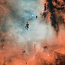 NGC 281 - Pacman Nebula HOO (crop),                                pete_xl