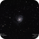 Messier 101 y alrededores,                                Javier Izquierdo
