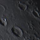 Moon - Cepheus/Franklin/Shuckbergh/Hooke Craters Region - 10Nov2014,                                Geof Lewis