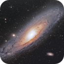 M31 Andromeda Galaxy,                                Ruzeen Farsad