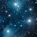 Pleiades (M45),                                poluvex