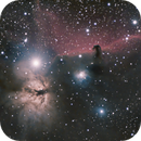 Bernard 33 - Horsehead Nebula, Flame Nebula  1/17/2021,                                Joe Sadony