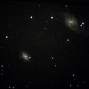 NGC 3718 and NGC 3729,                                Robin Clark - EAA imager