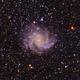 Fireworks Galaxy or NGC 6946,                                Seymore Stars