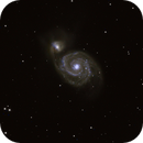 M 51 Whirlpool Galaxy,                                astrofriends