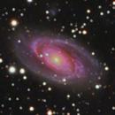 Bode's & Cigar Galaxies (M 81 & M 82) crop version,                                Lukas Šalkauskas