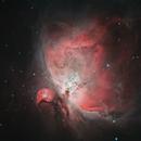 M42 Orionnebel,                                Wolfgang Ransburg