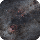 Cygnus nebular complex in milky way,                                Jocelyn Podmilsak