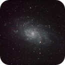 M33 with L-Enhance filter,                                Robin Clark - EAA imager