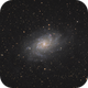 "M33 ""The Triangulum Galaxy"" - September 26, 2019,                                Adam Drake"