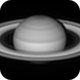 Saturn on April 25, 2020 in Infrared,                                Chappel Astro