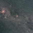 Região do Cruzeiro do Sul e Nebulosa Eta Carinae,                                Dcpd