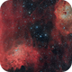 IC405 Flaming Star, IC410 Tadpoles Nebulae,                                Chad Andrist