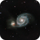 M51 - The Whirlpool Galaxy,                                Mahesh Kamkanamge