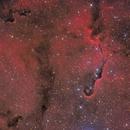 IC1396a - Elephants Trunk Nebula - Ha-RGB,                                Jonas Illner