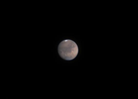 "Mars at September 19th 02:32 German time in 4"" f/10 refractor,                                Niklo"