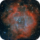 Rosette Nebula Crop,                                Michael_Xyntaris