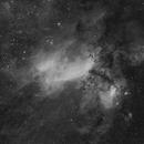 Prawn Nebula in H-alpha light,                                Ignacio Diaz Bobillo