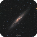 NGC 4945 - Spiral Galaxy in Centaurus,                                Lucas Magalhães