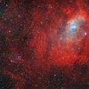 Planetary nebula KjPn 8 (PN G112.5-00.1, K3-89) and Bubble Nebula (NGC7635),                                Boris US5WU