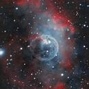 Bubble Nebula in HOO,                                Pyrasanth