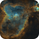 Heart Nebula and WeBo 1,                                Monkeybird747