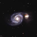 M51 - Whirlpool Galaxy,                                ArkRider
