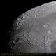 Moon waxing gibbous, northern part,                                Michael Fürsatz