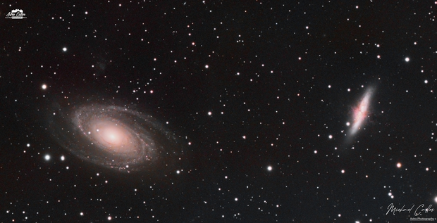 M81 & M82 LRGB,                                Michael Caller