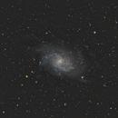 M 33 - Triangulum galaxy,                                Maël BORDERIE