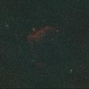 Seagull Nebula and Thor's Helmet at 85mm in HOO,                                JDJ