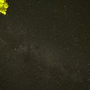 Voie Lactée + Andromède,                                logthin