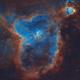 SHO Palette Heart Nebula,                                Chris King