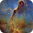 IC 1396 Elephant Trunk Nebula Mosaic, Hubble Palette,                                Eric Coles (coles44)
