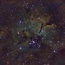 NGC6820 Narrowband,                                Andrew Barton