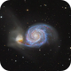 Whirlpool Galaxy - M51,                                Thomas Richter