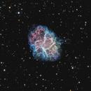 Crab Nebula with O3 Extension,                                James E.