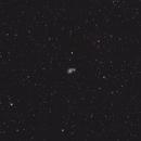 M51 Whirlpool Galaxy in 300mm Camera Lens,                                404timc