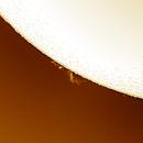 Solar prominence 20200405,                                Sergio Alessandrelli